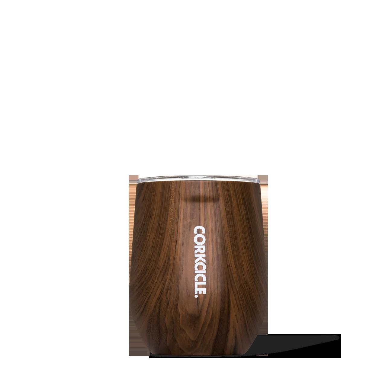 Corkcicle- Stemless- Walnut 0816549026506