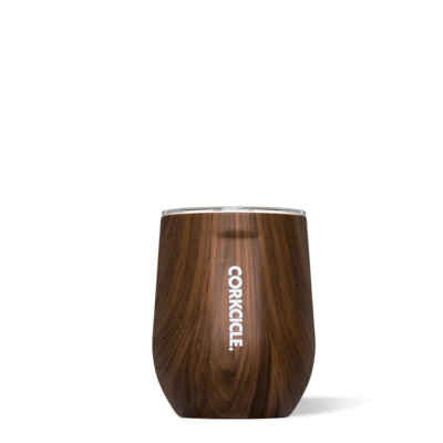 Corkcicle- Stemless- Walnut