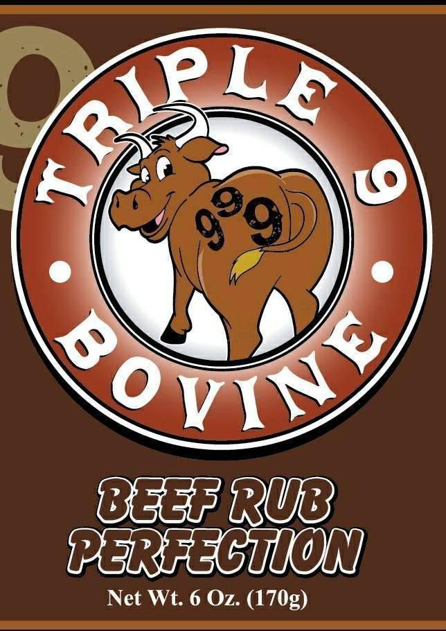 Triple 9-5lb Beef Rub