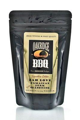 Oakridge BBQ-Jah Love Jamaican Jerk Seasoning 6 oz