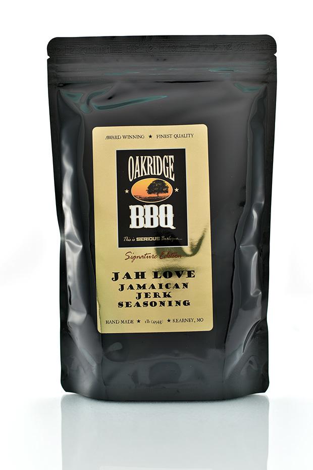 Oakridge BBQ-Jah Love Jamaican Jerk Seasoning 1 lb 0013964964363