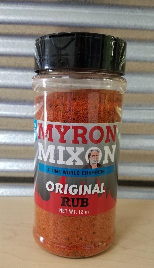 Myron Mixon- Original Rub 0635602100119
