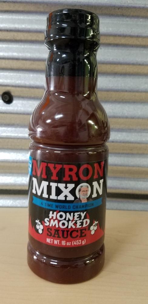 Myron Mixon- Honey Smoked Sauce 0635602100171