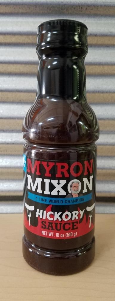 Myron Mixon- Hickory Sauce 0635602100034