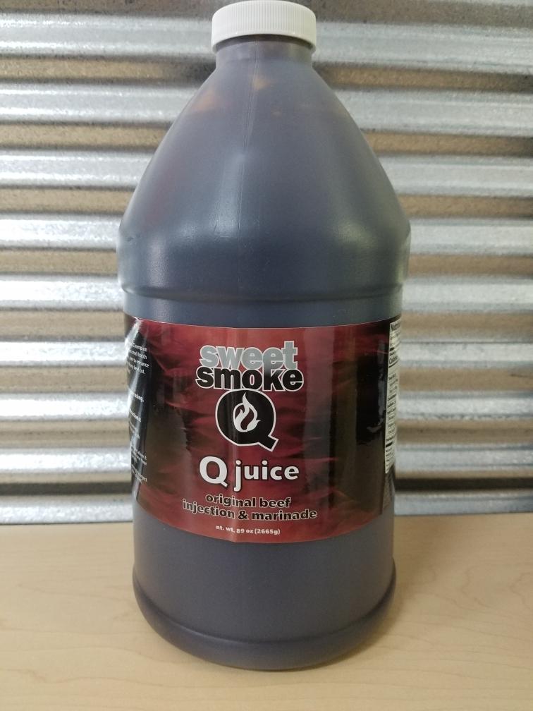Sweet Smoke Q- Beef Injection 1/2 Gallon 0720260430613