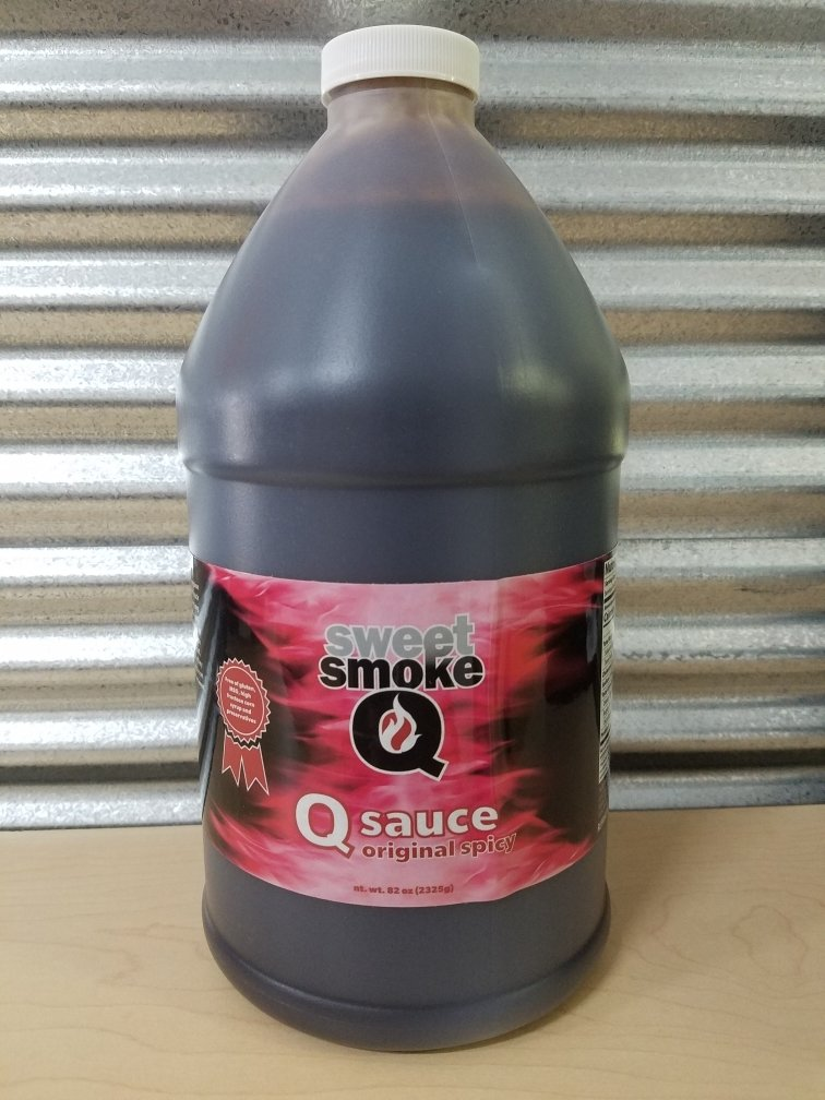 Sweet Smoke Q- Spicy 1/2 Gallon