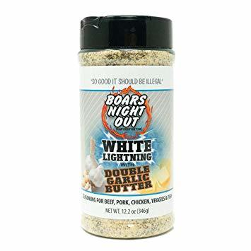 Boars Night Out- White Lightning with Double Garlic Butter 0867130000139