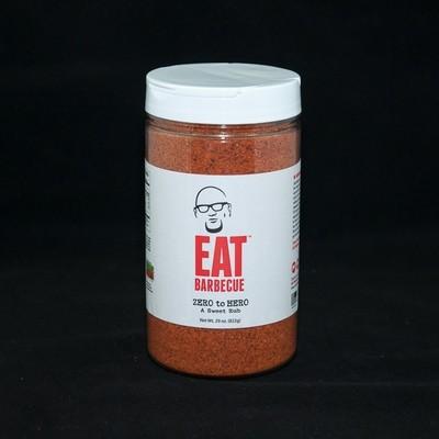 Eat BBQ-Zero to Hero Rub- 29oz