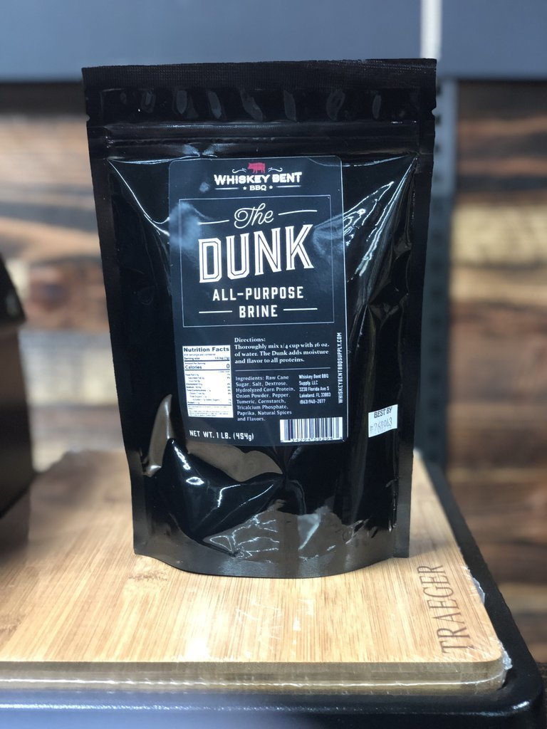 Whiskey Bent- The Dunk- All Purpose Brine 0634294592943