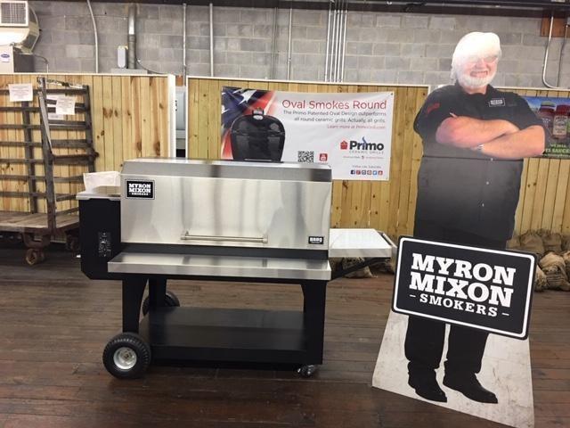 Myron Mixon BARQ 1700 Pellet Grill-Small