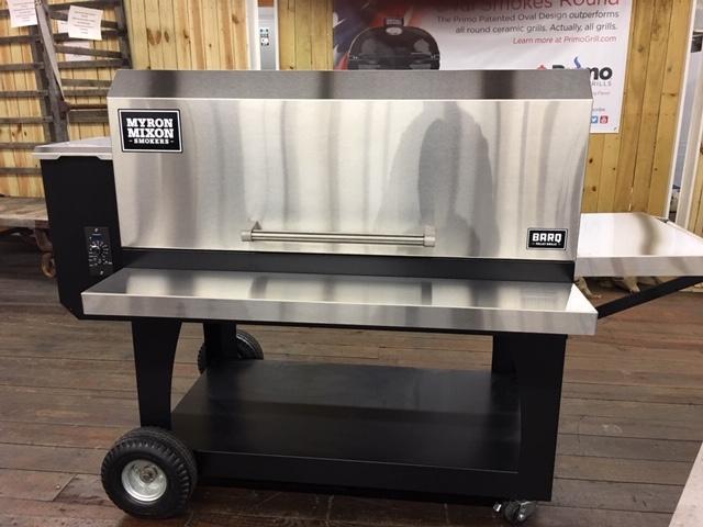 Myron Mixon BARQ 2400 Pellet Grill- Medium 01698