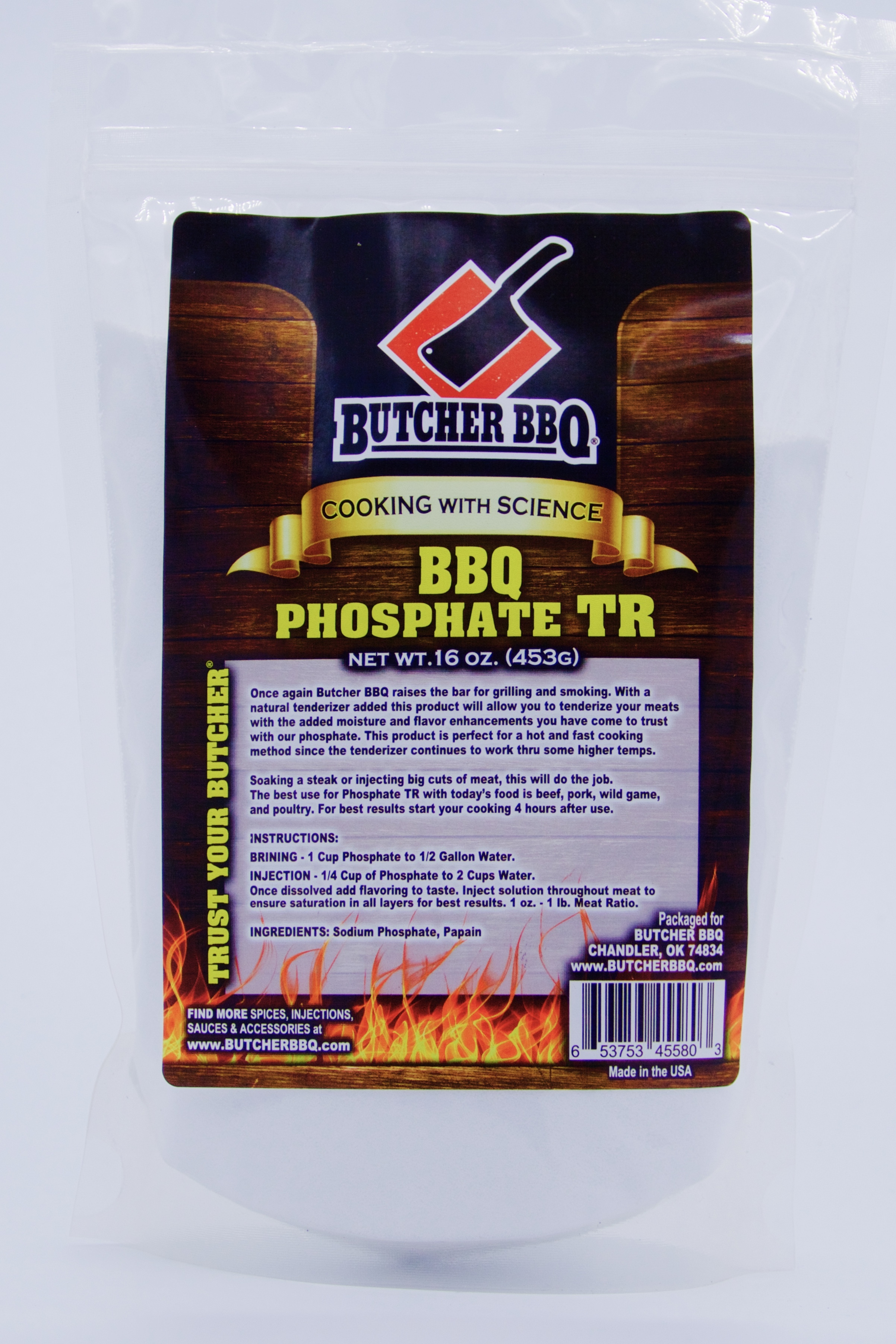 Butcher BBQ Phosphate TR 0609613035876