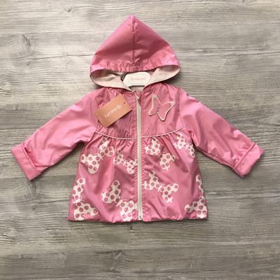Ветровочный плащ для девочек 2-3 года Baby Rose/Турция Легкий демисезон