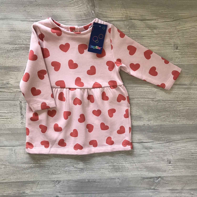 Платье с начесом для малышей 1,5-2 года Lupilu/Германия