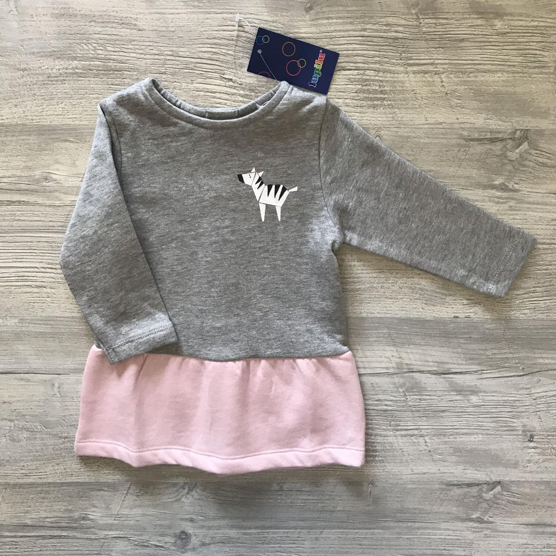 Платье с начесом для малышей 9-12 месяцев Lupilu/Германия