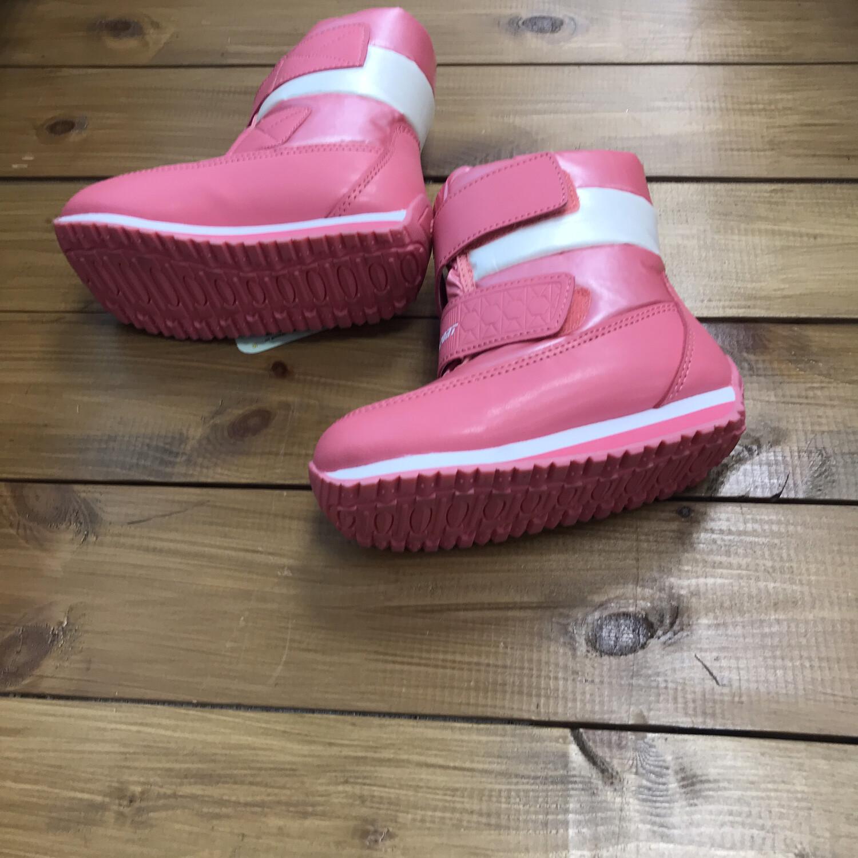 Сноубутсы для девочек 25 размер розовые Зима