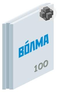 Пазогребневая плита (ПГП полнотелая) 667х500х100 мм