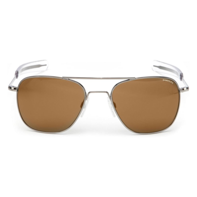 Randolph Aviator Sunglasses - Tan Glass