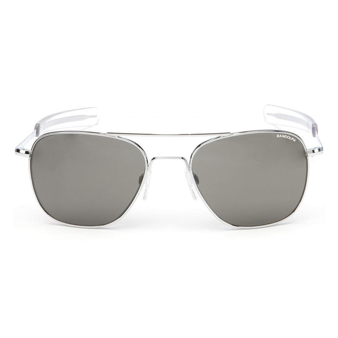 Randolph Aviator Sunglasses - Grey Glass