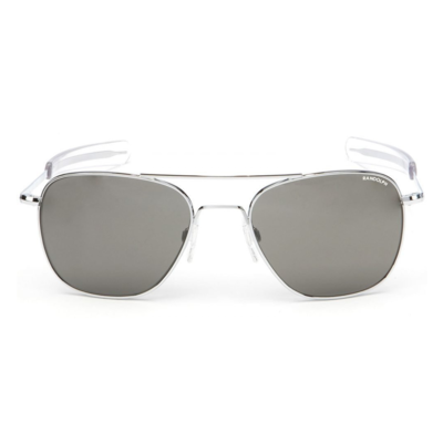Randolph Aviator Sunglasses - Grey Glass