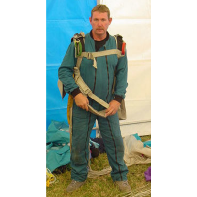 Parachute Twin Zip Jump Suits