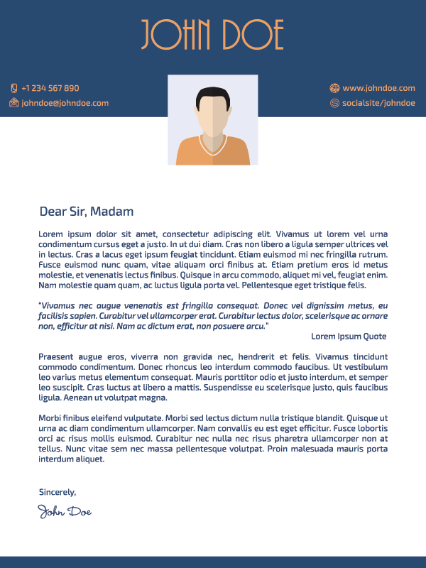 Cover Letter 00046