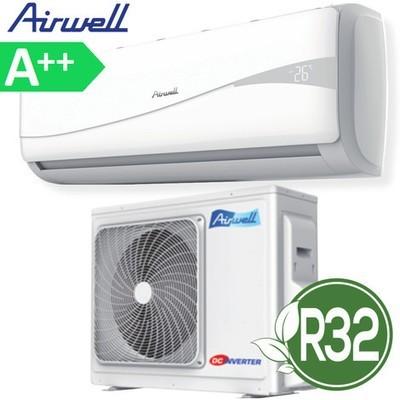 Climatizzatore condizionatore inverter HDM AirWell 9000 btu R32 classe A++ compreso installazione