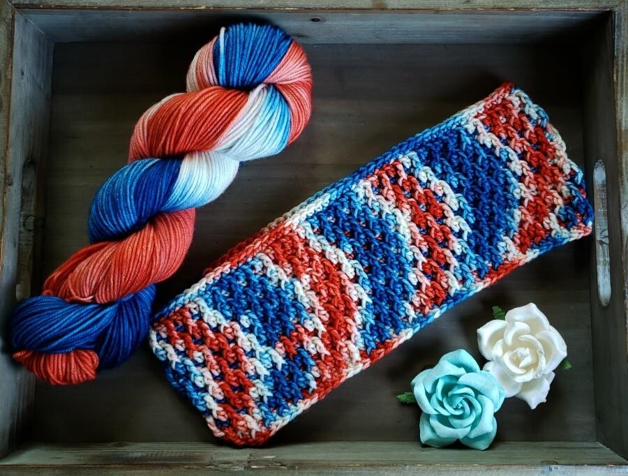 Autumn Cowl Crochet Pattern