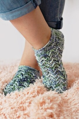 Aspen Socks Crochet Pattern