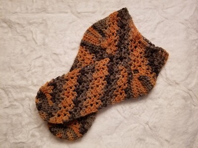 Autumn Socks Crochet Pattern