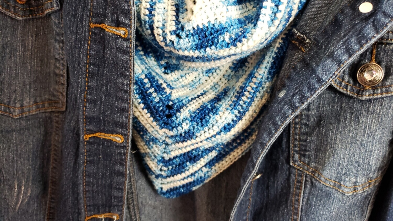 Bluebonnet Shawl Crochet Pattern