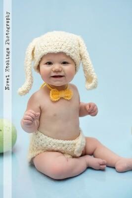 Bunny Beanie Crochet Pattern