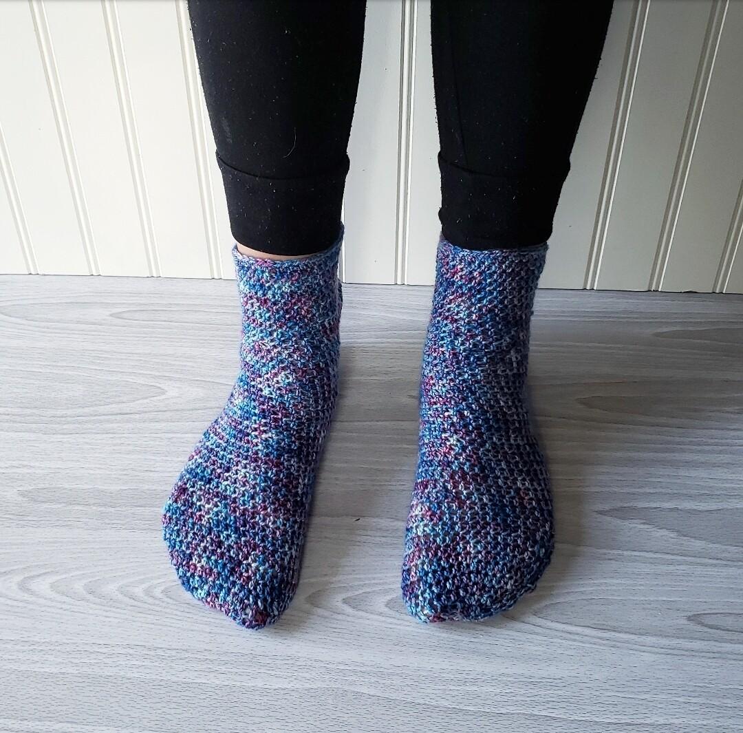 Simplicity Socks Crochet Pattern