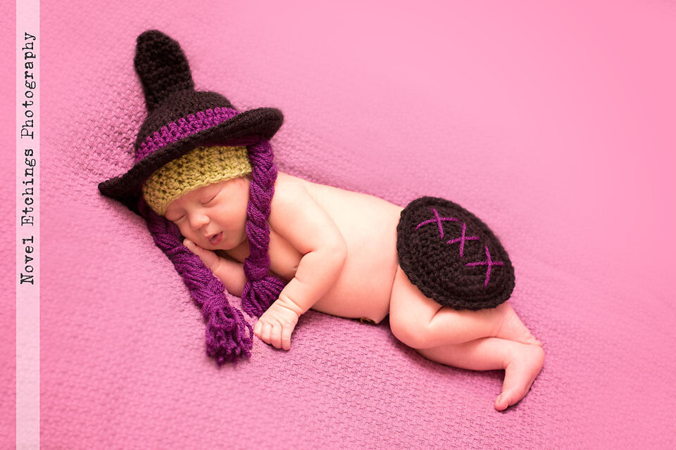 Cutest Witch Baby Crochet Pattern