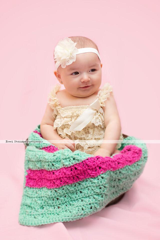 Crisscross Sherbet Blanket Crochet Pattern