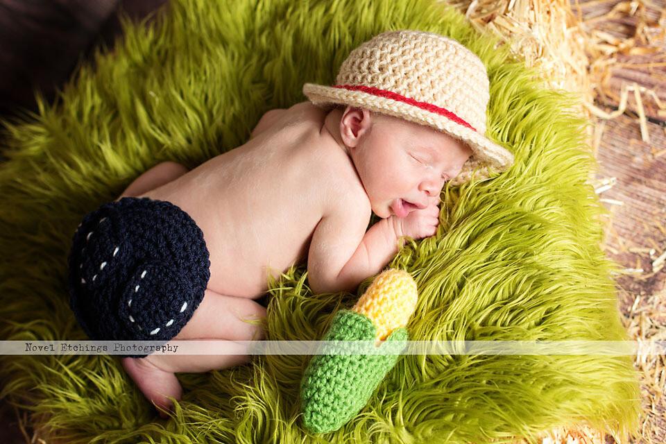 Farmer Baby Crochet Pattern