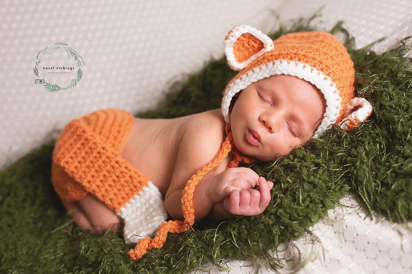 Fox Baby Crochet Pattern