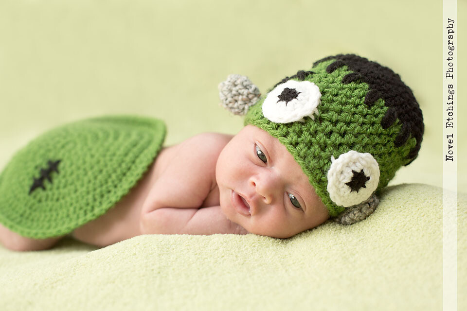 Frankenstein Baby Crochet Pattern