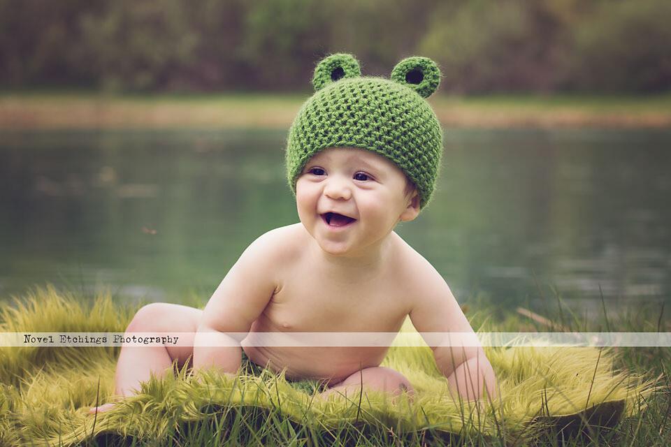 Frog Beanie Crochet Pattern