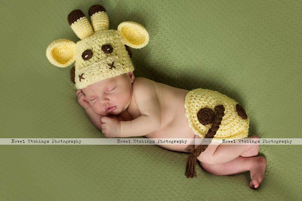 Giraffe Baby Crochet Pattern