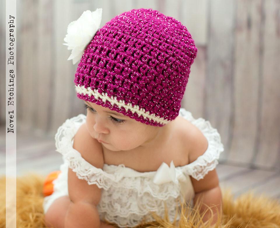 Glamour Beanie Crochet Pattern