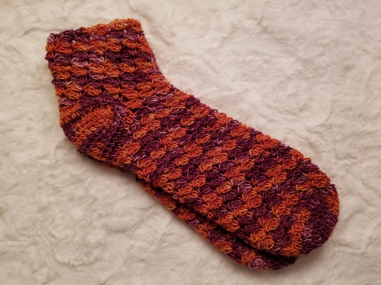 Halloween Town Socks Crochet Pattern