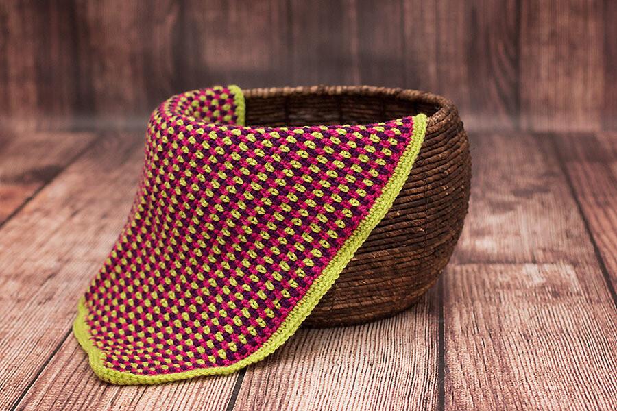 Jelly Bean Blanket Crochet Pattern