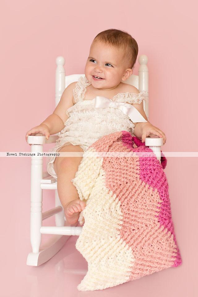 Hope Chevron Blanket Crochet Pattern