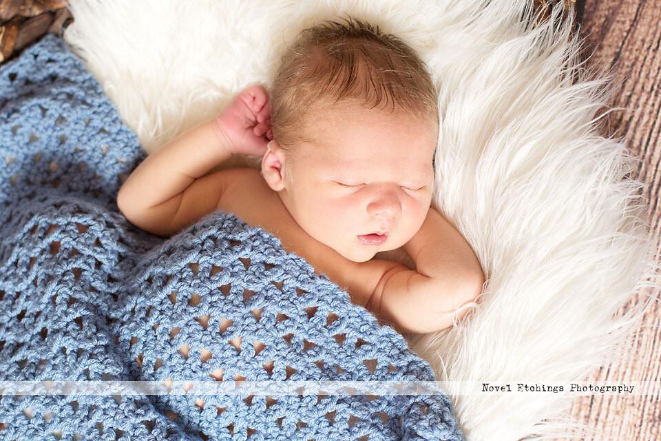 Jade Blanket Crochet Pattern
