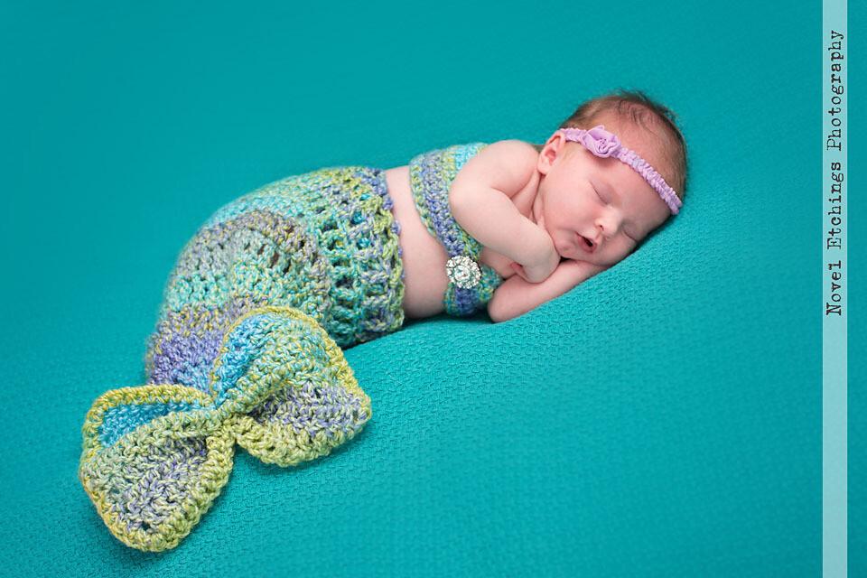 Mermaid Baby Crochet Pattern