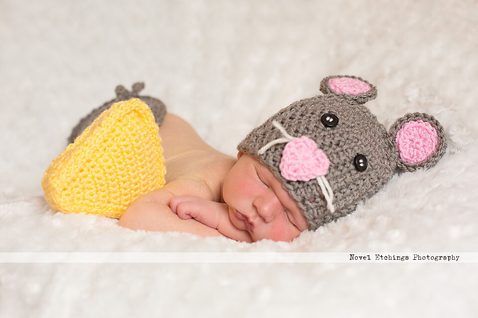 Mouse Baby Crochet Pattern