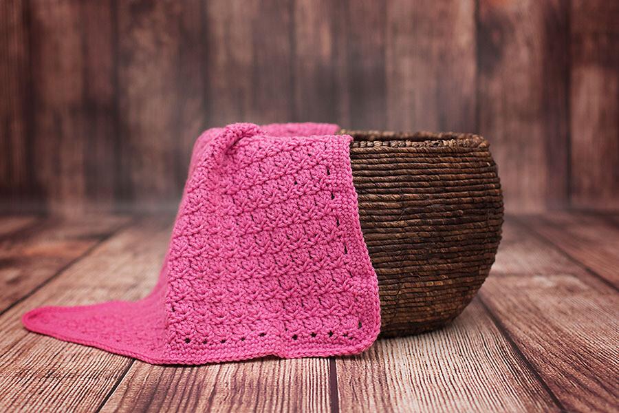 Primrose Blanket Crochet Pattern