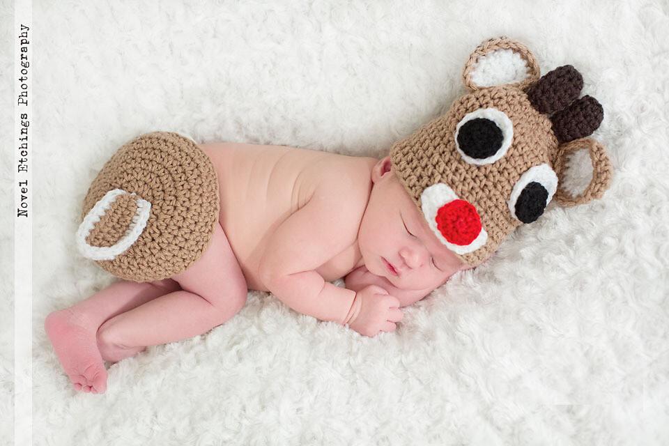 Reindeer Baby Crochet Pattern