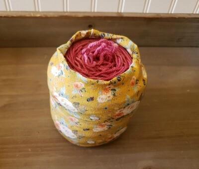 Floral Yarn Hug